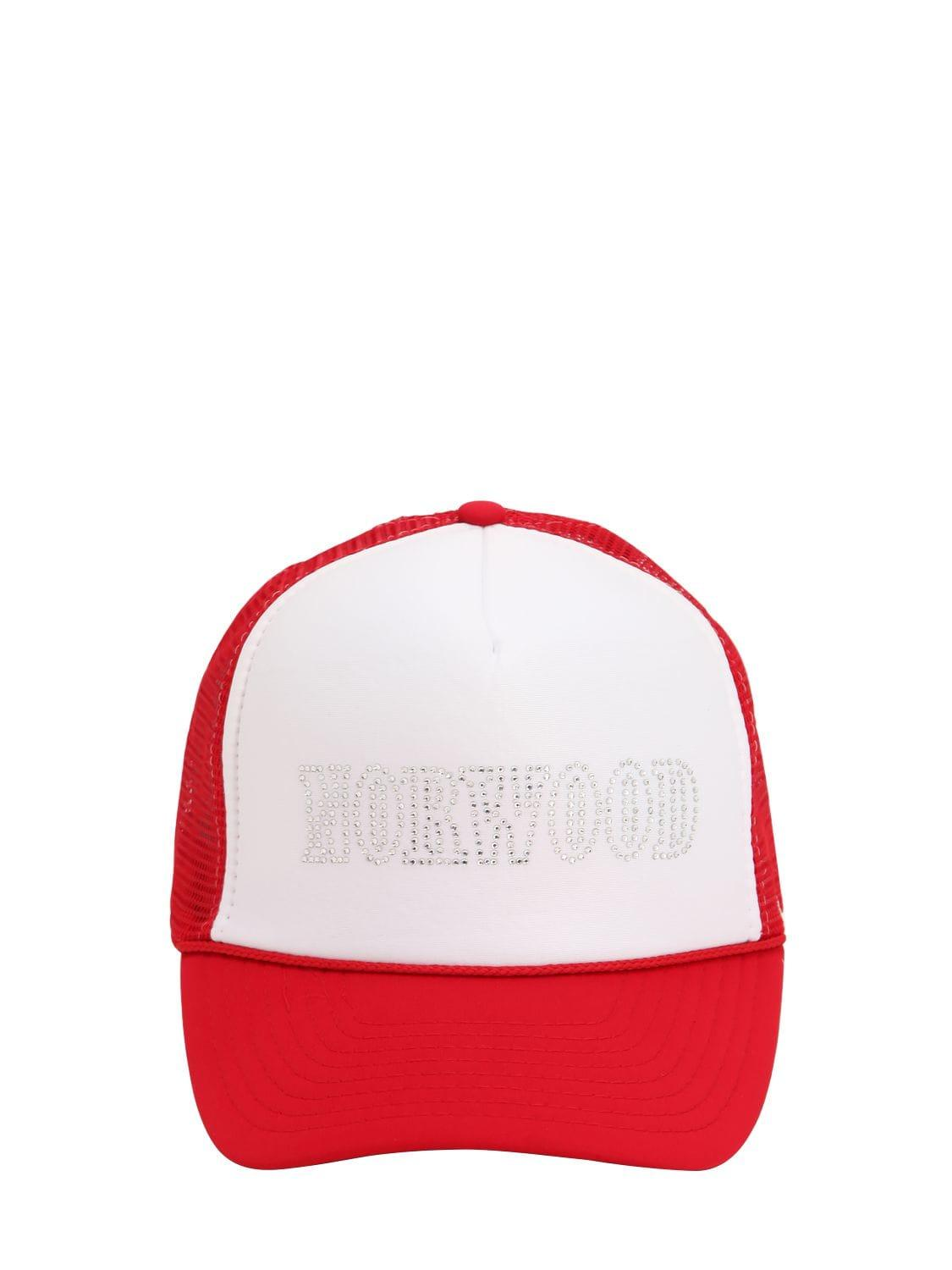 7990a8ee09b9 Lyst - NORWOOD CHAPTERS Norwood Cotton Trucker Hat in Red for Men