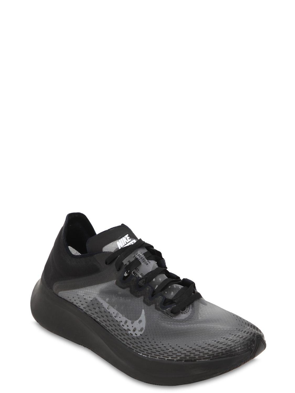 dbaf96fadfe6a Nike Zoom Fly Sp Fast Sneakers in Black for Men - Lyst