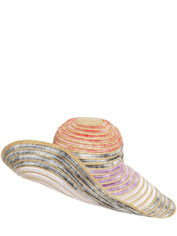 0129629c994 Missoni - Multicolor Wide Brim Straw Hat - Lyst. View fullscreen