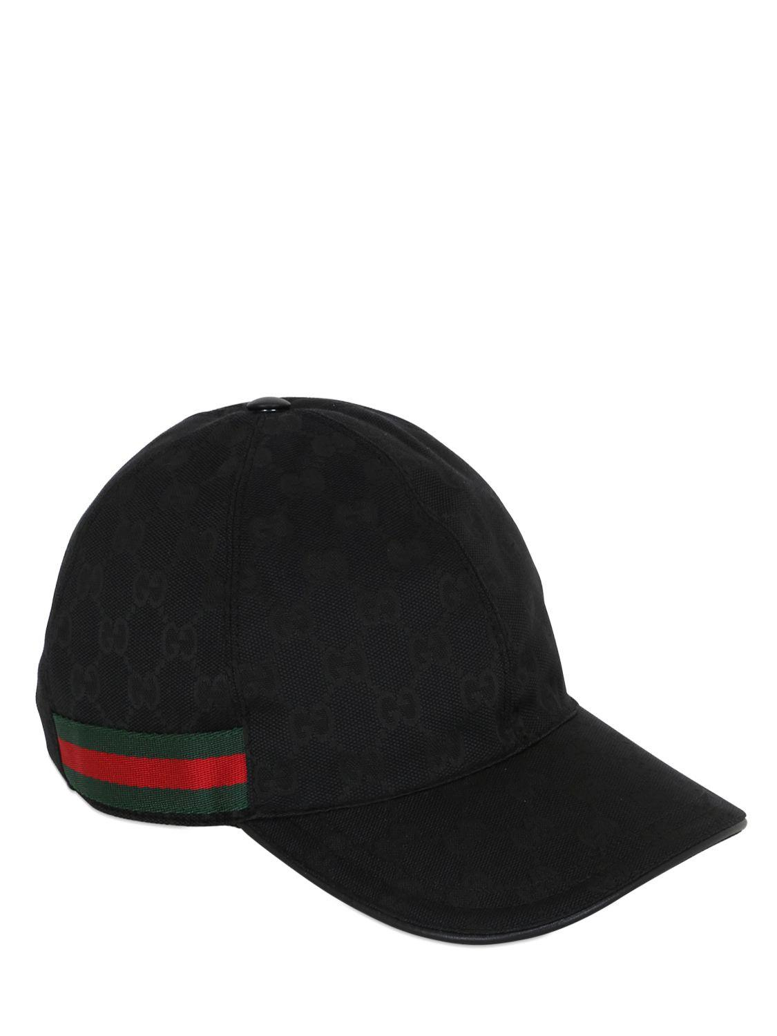 cfbe34c959ad4 Gucci Original GG Canvas Baseball Hat in Black for Men - Save 42% - Lyst