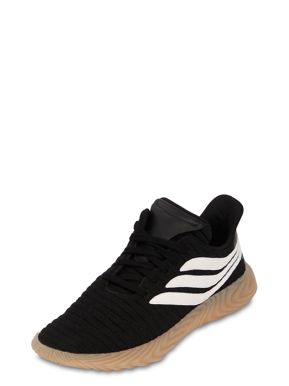 new concept 56ae4 11393 Lyst - adidas Originals Sobakov Sneakers in Black for Men