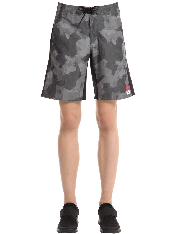 ff019331e5e Lyst - Reebok Crossfit Super Nasty Tactical Shorts in Black for Men