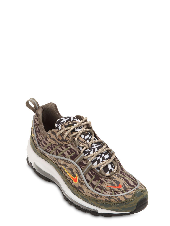 0aa82f9c6ef Lyst - Nike Air Max 98 Aop Sneakers for Men