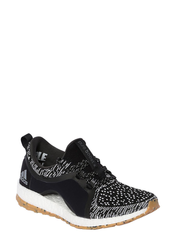 ca5c63e6f82d ... where can i buy adidas originals black pure boost x atr sneakers for men  lyst.