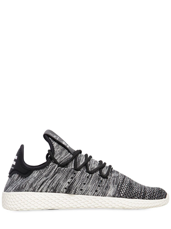 0f6beb849 Lyst - adidas Originals Pw Hu Primeknit Sneakers in Black for Men