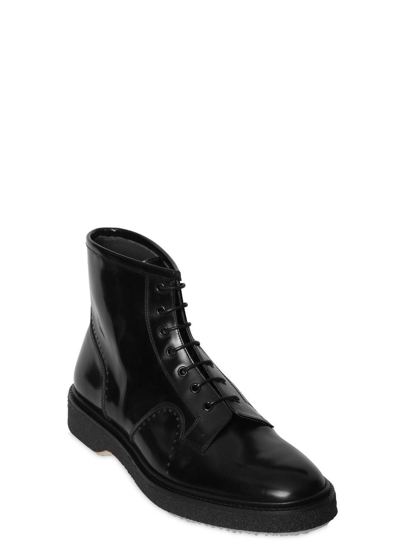 Adieu - Black Bottines en cuir poli for Men - Lyst 00792ea7fd9b