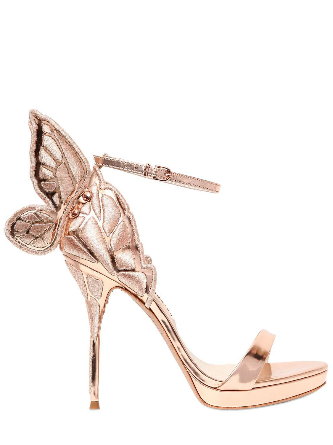Chiara Metallic Leather Sandals - Silver Sophia Webster Perfect Online With Paypal Cheap Online RZl2GnQ7