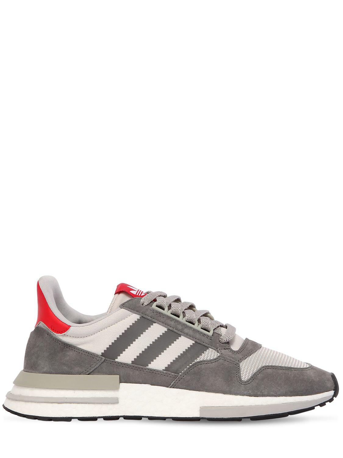 01a7c8b76ea adidas Originals Zx 500 Sneakers in Gray for Men - Save 44% - Lyst