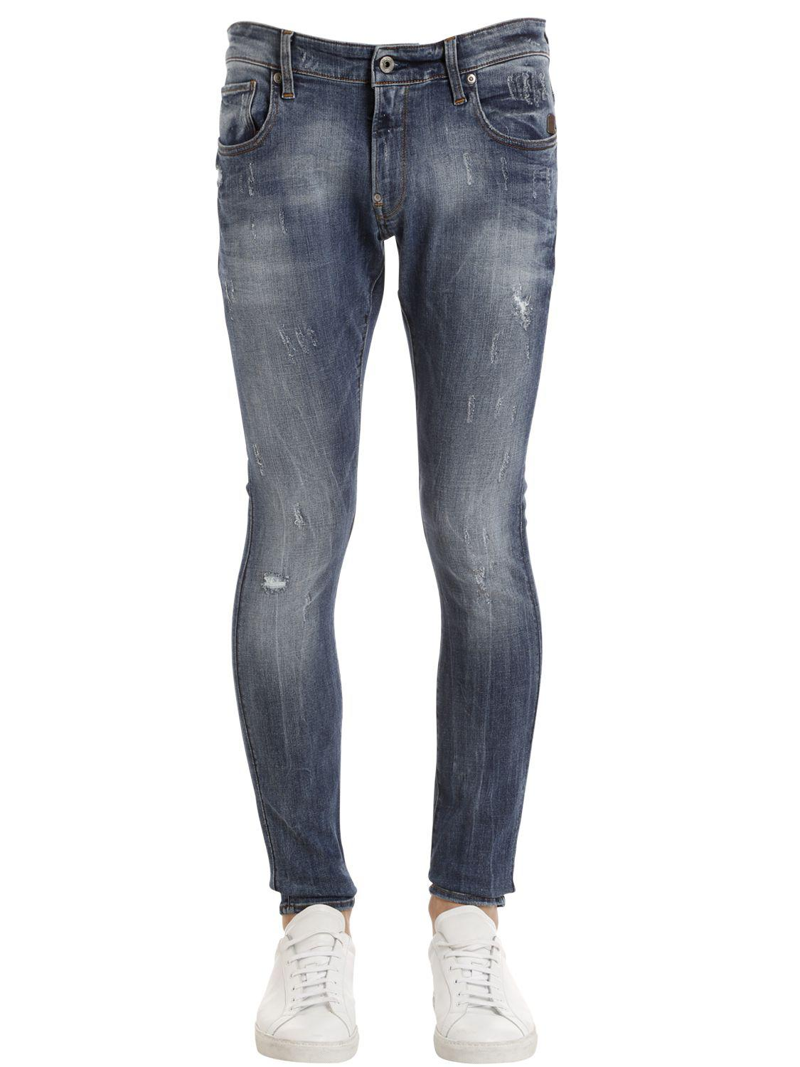 Revend Super Slim Jeans Midwash - Blue G-Star u1O6YLY
