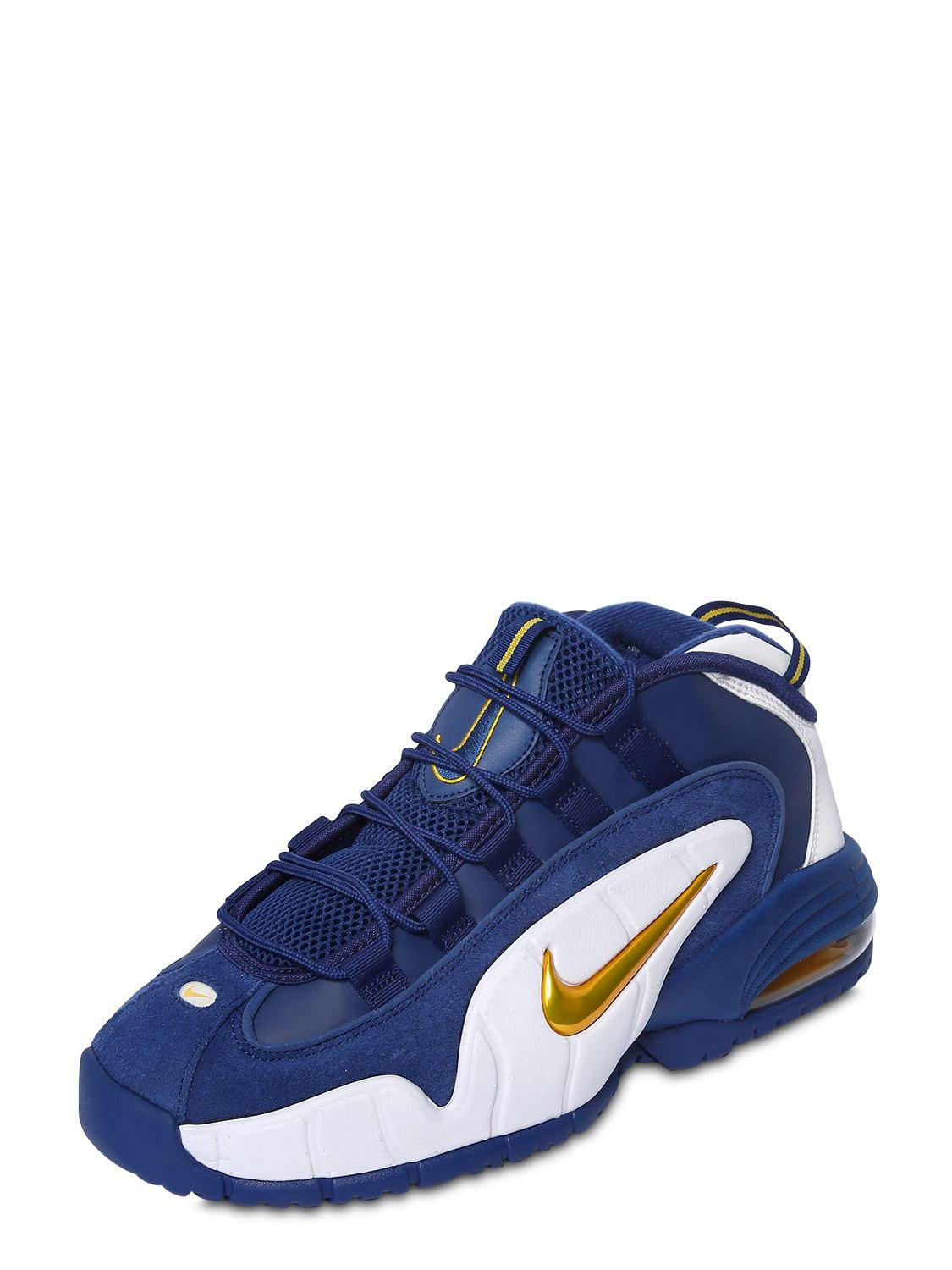 88aecd9b712a Lyst - Nike Air Max Penny Sneakers in Blue for Men