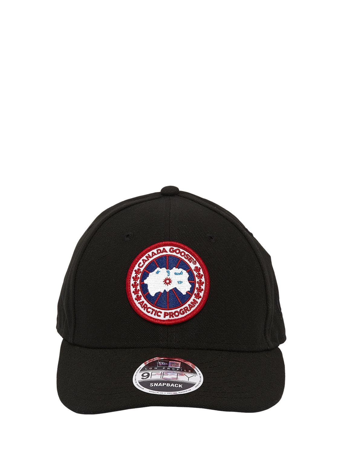 Canada Goose Core Cap New Era 9fifty Hat in Black for Men - Lyst b6cf3c3caf9a
