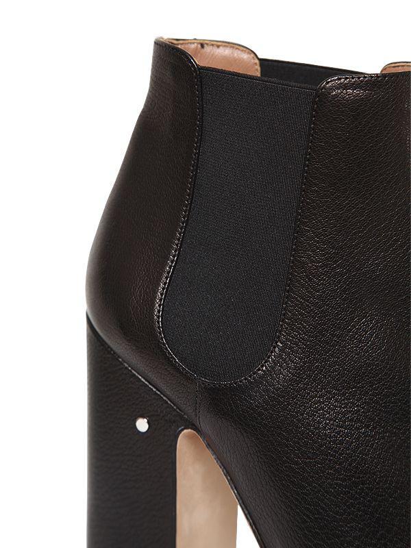 a424428b903 Laurence Dacade - Black 120mm Rosa Leather Platform Boots - Lyst. View  fullscreen