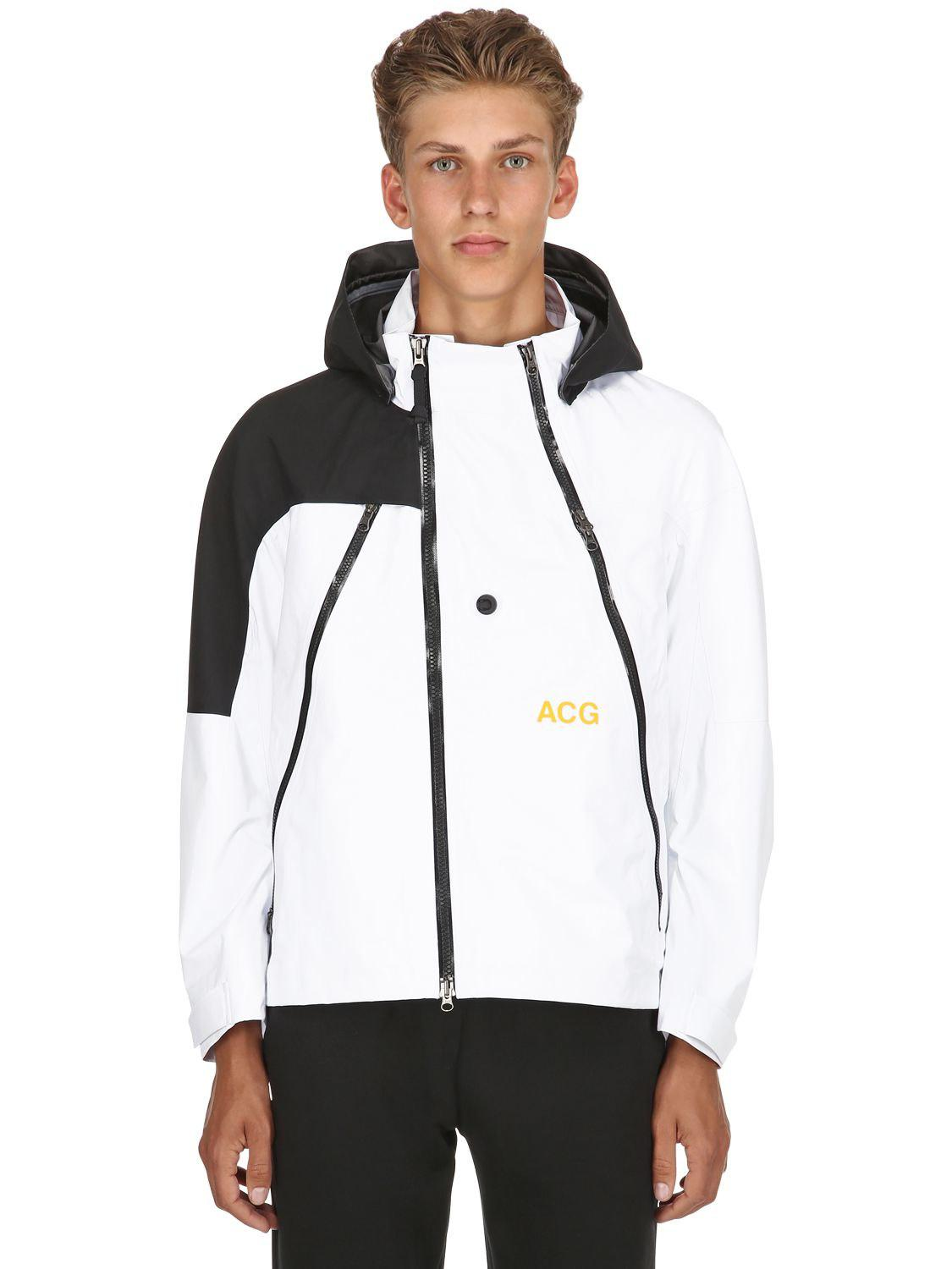 cheap for discount 61197 9c1e6 Nike Nikelab Acg Gore-tex Alpine Jacket in White for Men - Lyst