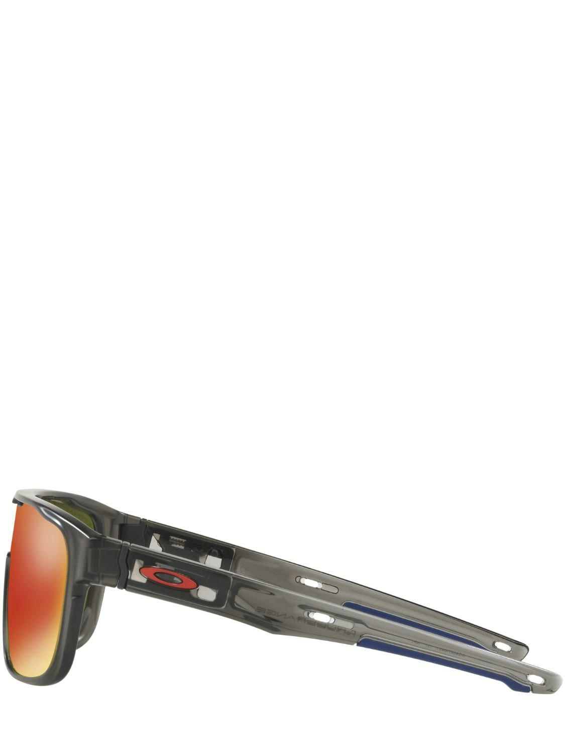 52a6e688e8 Oakley - Gray Crossrange Shield Mttgysmk Sunglasses - Lyst. View fullscreen