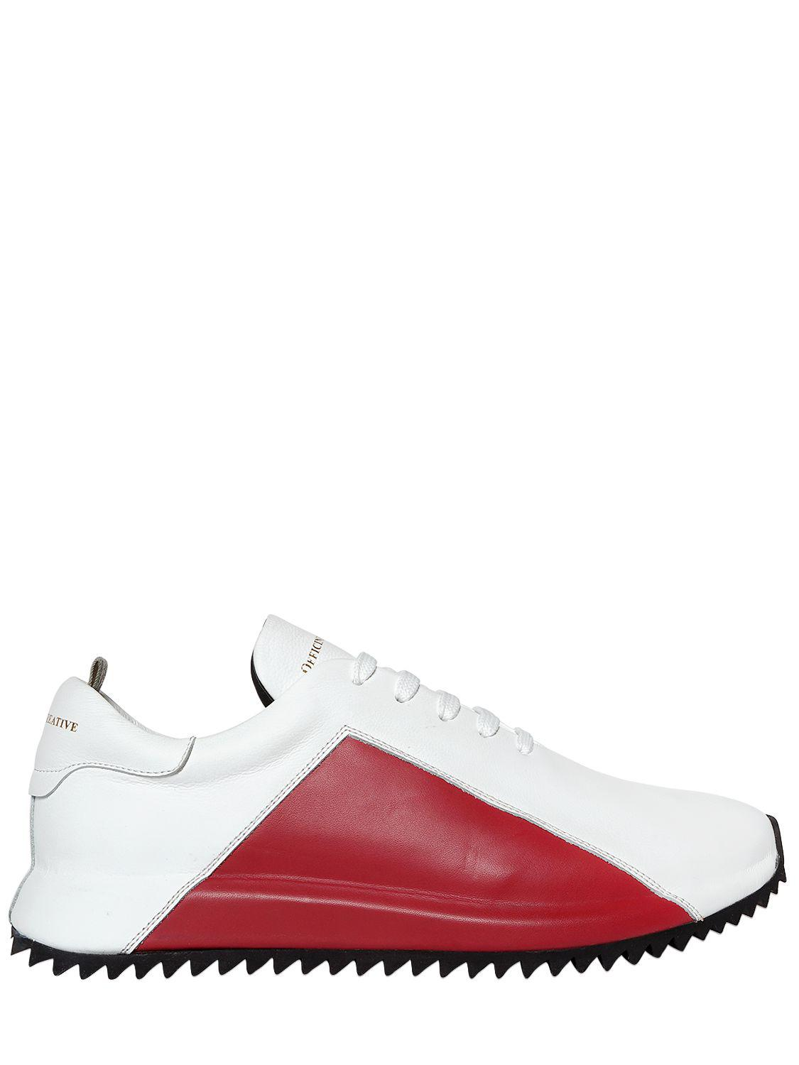 lace-up sneakers - White Officine Creative A9YgPq