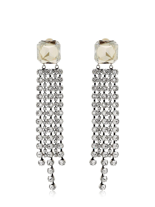 Crystal wooden drop earrings Isabel Marant AAowjHIx