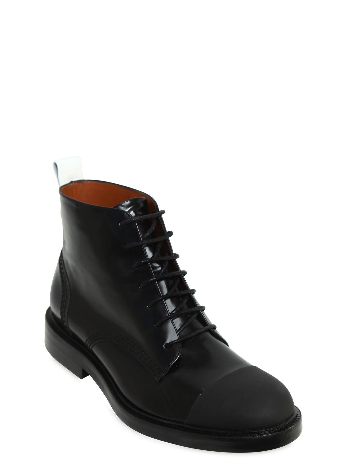 Joseph 20MM BRUSHED LEATHER ANKLE BOOTS y7Ls8