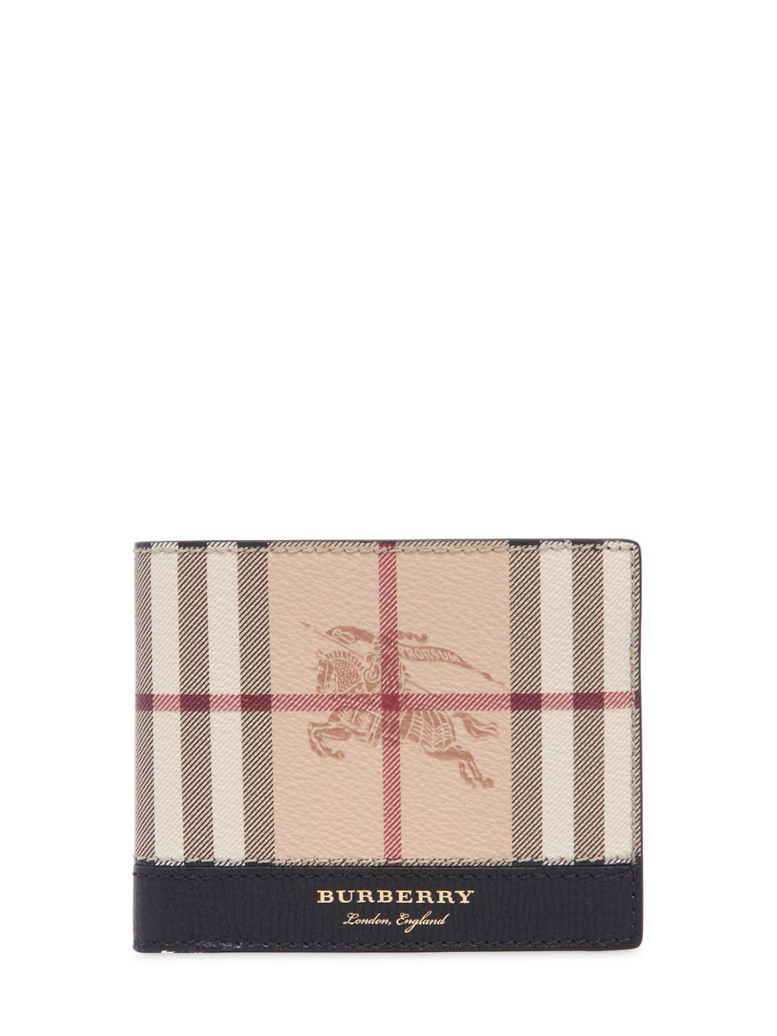 Burberry CHECK & LEATHER CLASSIC WALLET Cheap Sale Extremely With Paypal Cheap Price Real For Sale Cheap Deals Fxo6p