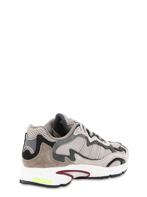 the best attitude 0c59d 3f32b Adidas Originals - Gray Temper Run Mesh   Suede Sneakers - Lyst. View  fullscreen