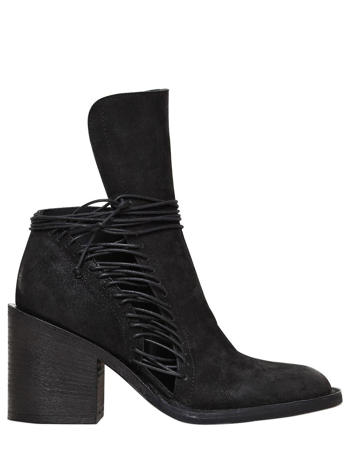 Pre-owned - Leather ankle boots Ann Demeulemeester H06sgu