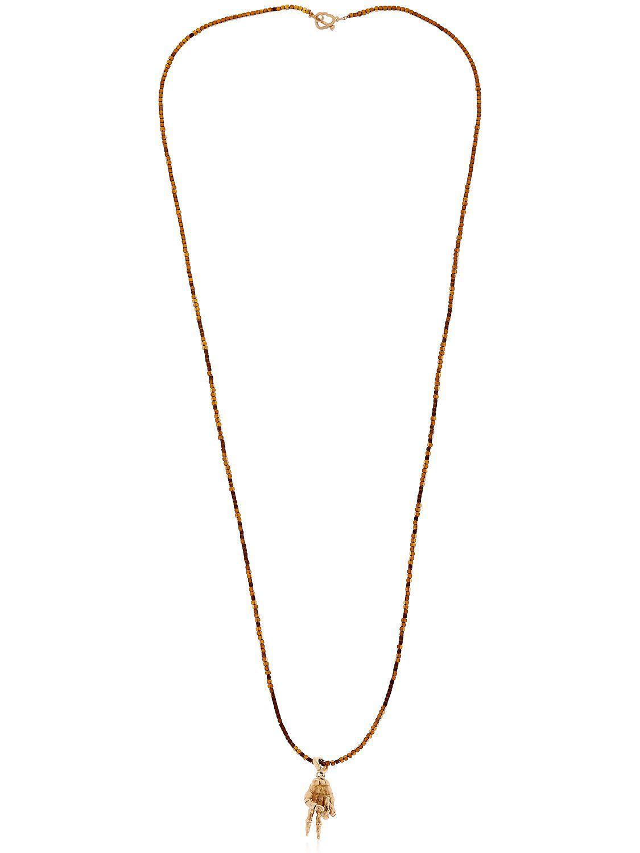 Luis Morais Skull-pendant necklace Sob9J