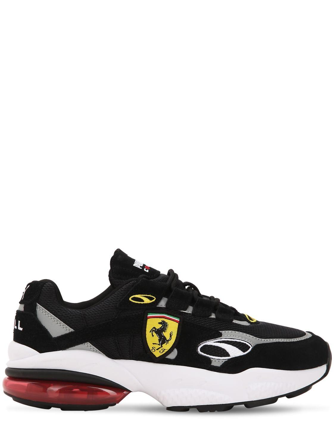 99207917e5a3dc Lyst - Puma Select Sf Cell Venom Mesh   Suede Sneakers in Black for Men