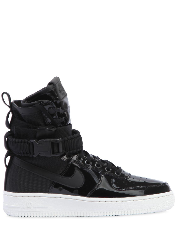 dd701b7c5cc51e Lyst - Nike Sf Air Force 1 Se Premium Sneakers in Black