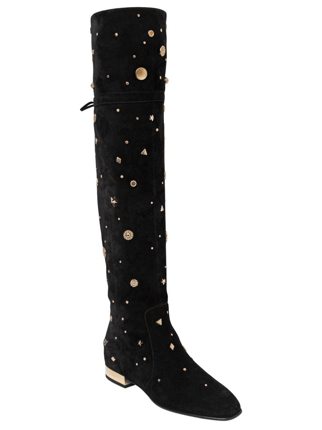 Gallery. Previously sold at: LUISA VIA ROMA, Roger Vivier · Women's Studded  Boots ...