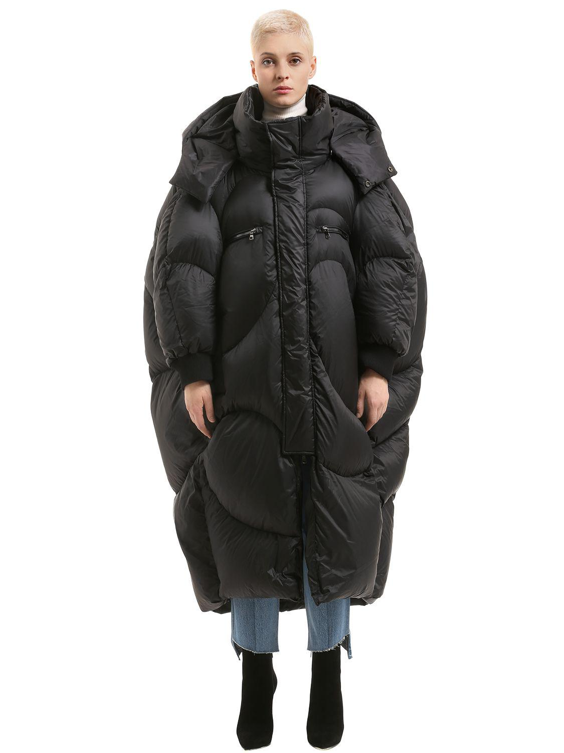 Lyst - Chenpeng Oversized Quilted Long Jacket in Black for Men : quilted long down coat - Adamdwight.com