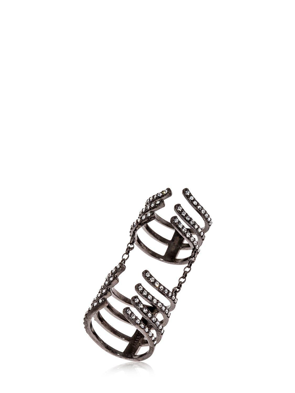 Federica Tosi Hook ring - Metallic DNTa3Alq