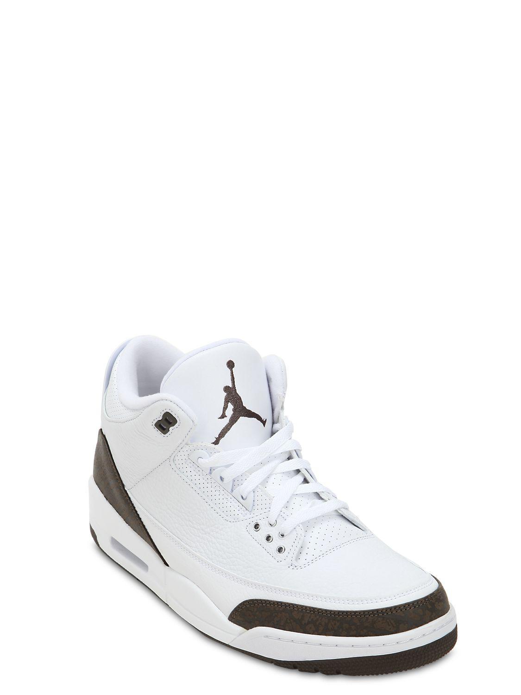 3f4b95885da Lyst - Nike Air Jordan 3 Mocha Retro Nrg Sneakers in White for Men