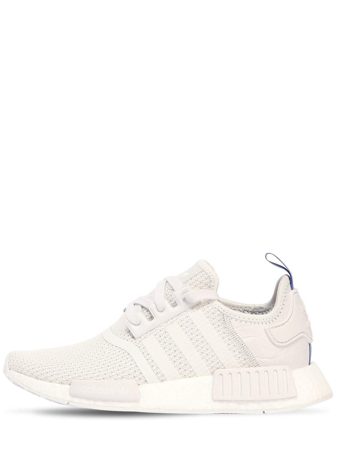 e268f1097 adidas Originals Nmd R1 Sneakers in White - Lyst