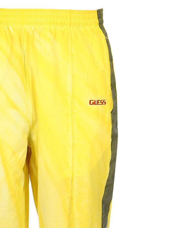 cbfbcb12031055 Guess Sean Wotherspoon Side Bands Track Pants in Yellow for Men - Lyst