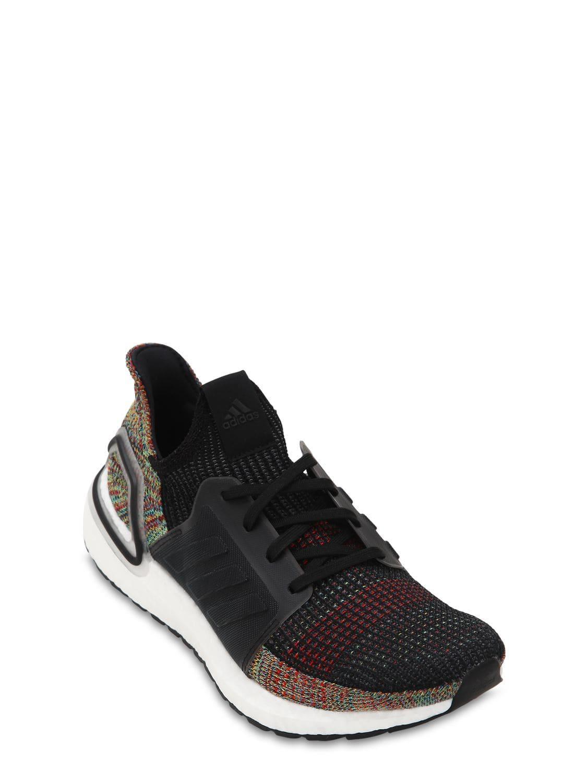 fa768fccf28 Lyst - adidas Originals Ultraboost 19 Primeknit Running Sneakers in Black  for Men