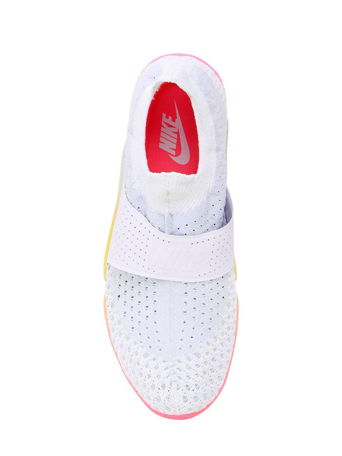 new products 59dfa c7396 Lyst - Nike Lab City Knife 3 Flyknit Sneakers in White
