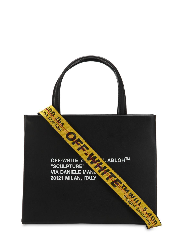 548020f3c Off-White c/o Virgil Abloh Tote Bag On Sale in Black - Lyst