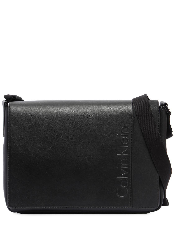 embossed logo clutch - Black CALVIN KLEIN 205W39NYC D0Azm