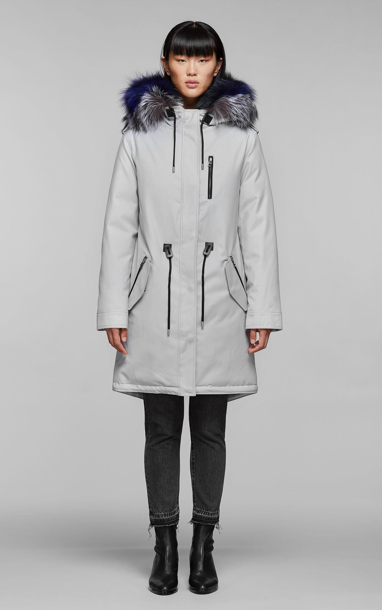 f04090e9b887 Mackage - Multicolor Rena-dx Down Filled Twill Parka With Fur-lined Hood -.  View fullscreen