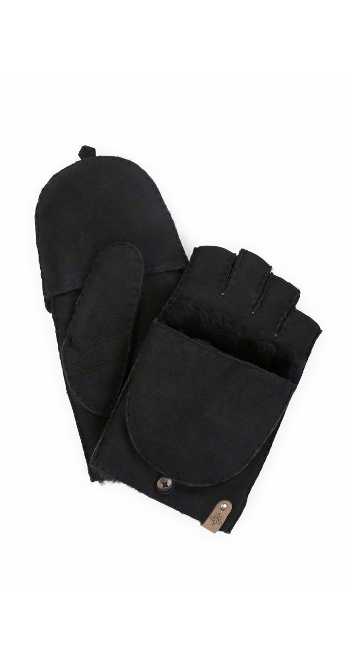 mackage lennon fingerless gloves and mitten for men in