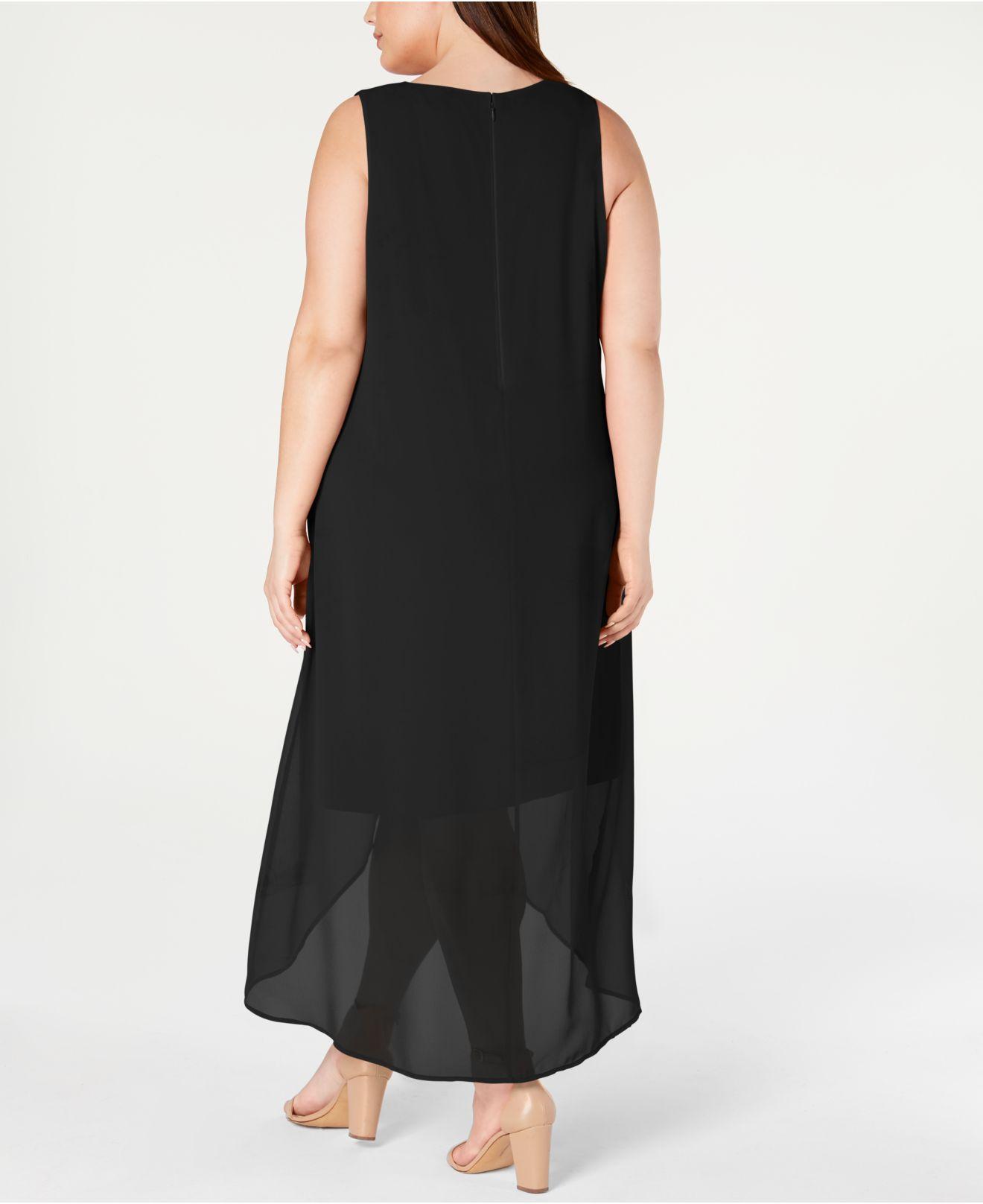 Black Dress Plus Size Macys   Saddha