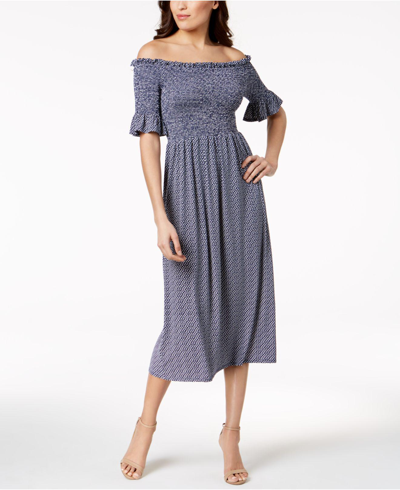 55f77452e3ff0 Gallery. Previously sold at  Macy s · Women s Off The Shoulder Dresses ...