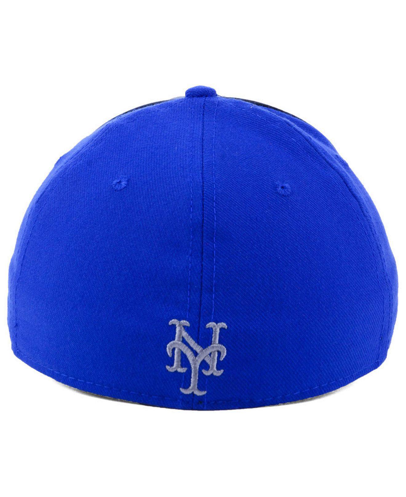 online store 67c56 552dd Nike - Blue New York Mets Team Color Reflective Swooshflex Cap for Men -  Lyst. View fullscreen