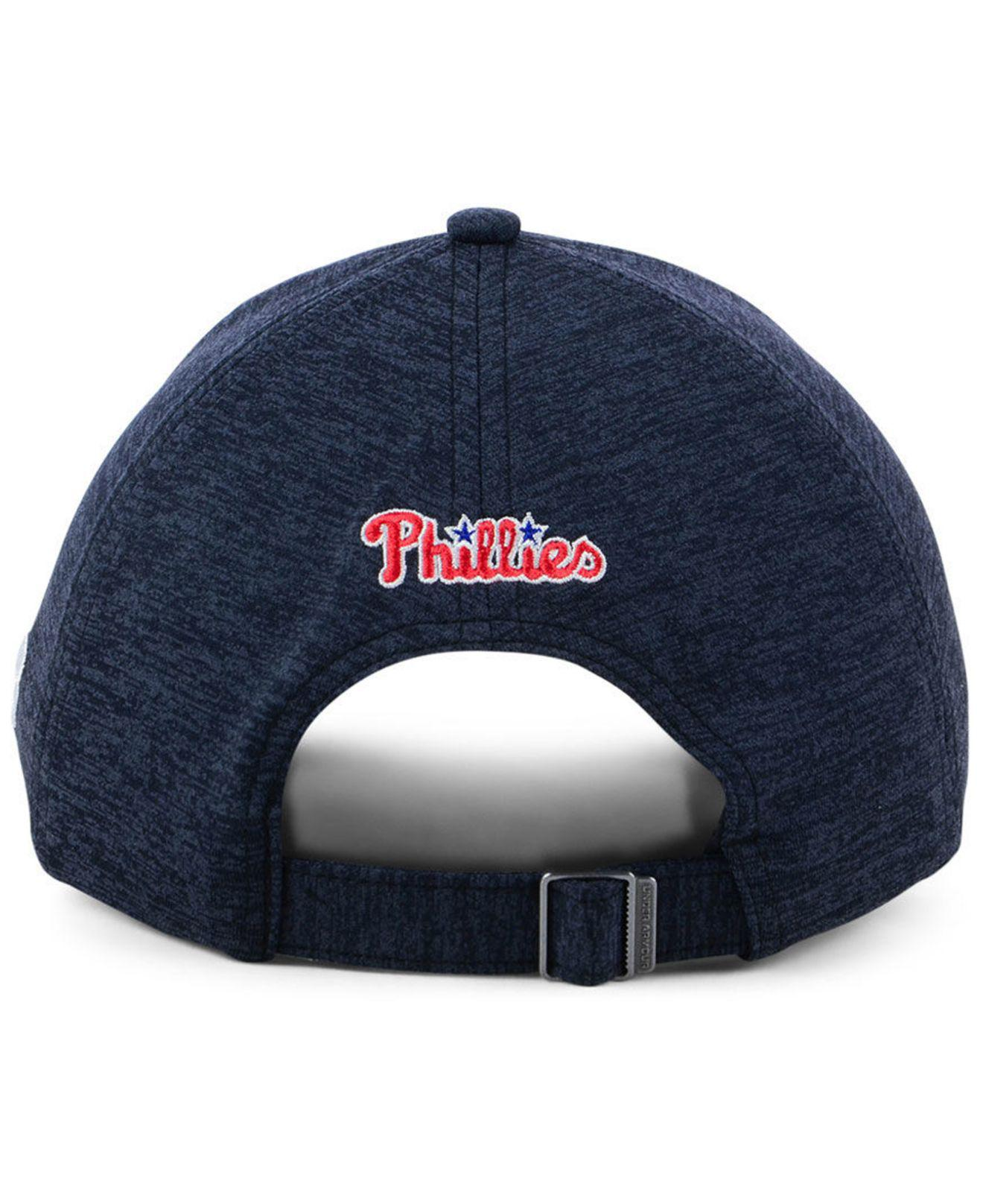 detailed look 77190 ac4bc Under Armour Philadelphia Phillies Renegade Twist Cap in Blue - Lyst