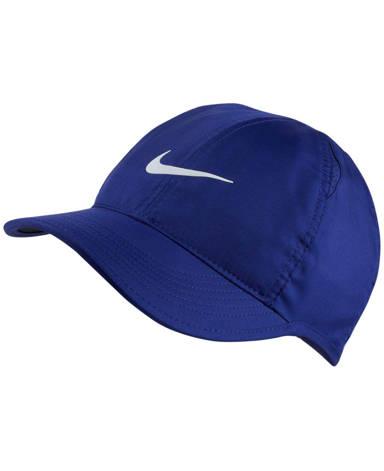 Lyst - Nike Featherlight Cap in Blue 87d071d3f49f