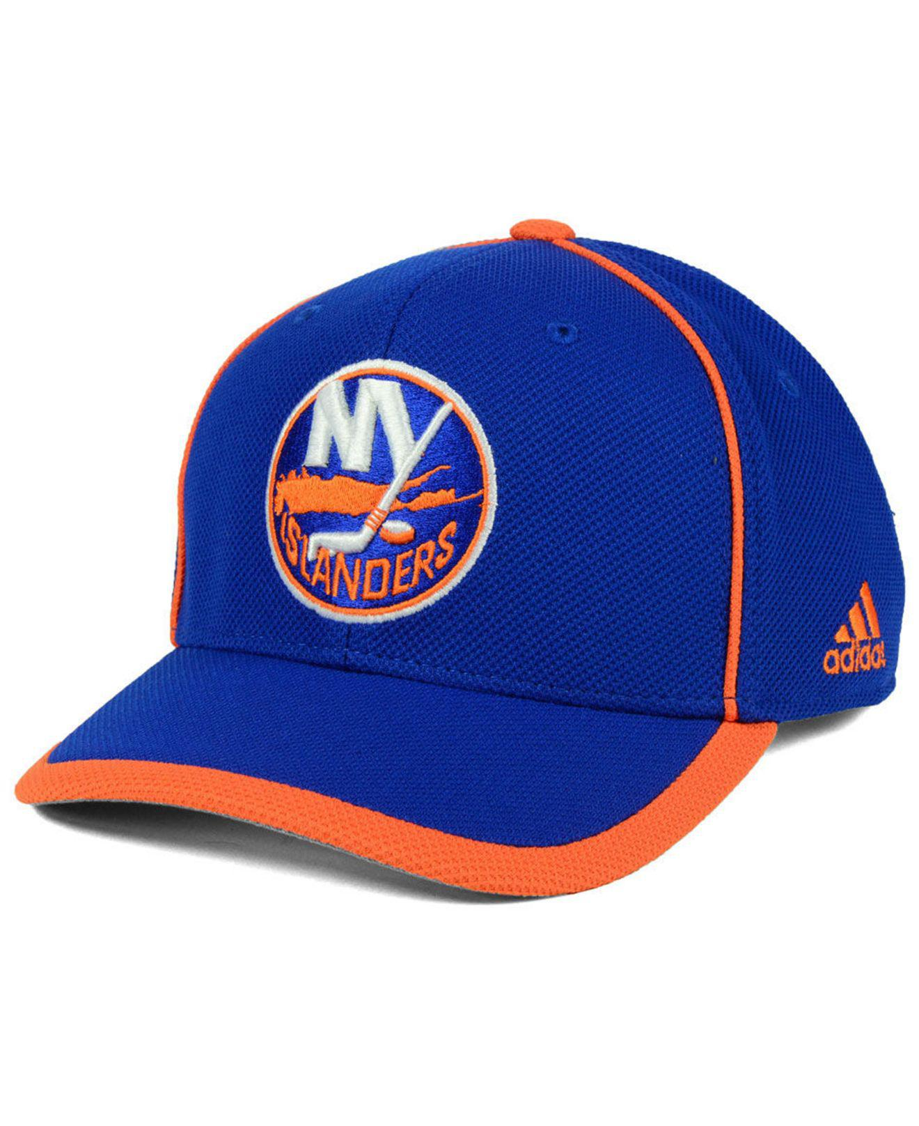 Lyst - Adidas New York Islanders Clipper Adjustable Cap in Blue for Men 15ef354cce9
