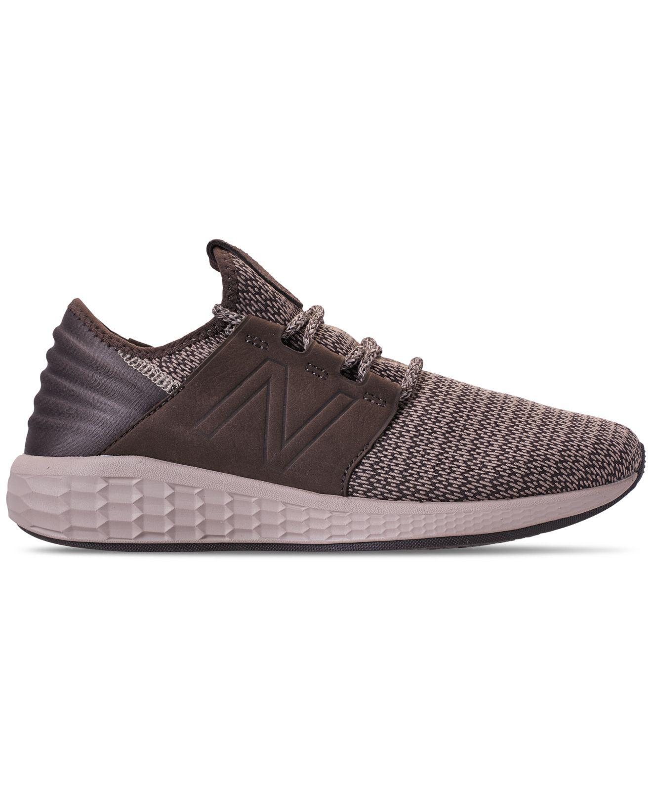 0dd5d1b21d4fa Lyst - New Balance Fresh Foam Cruz Running Sneakers From Finish Line in  Brown for Men