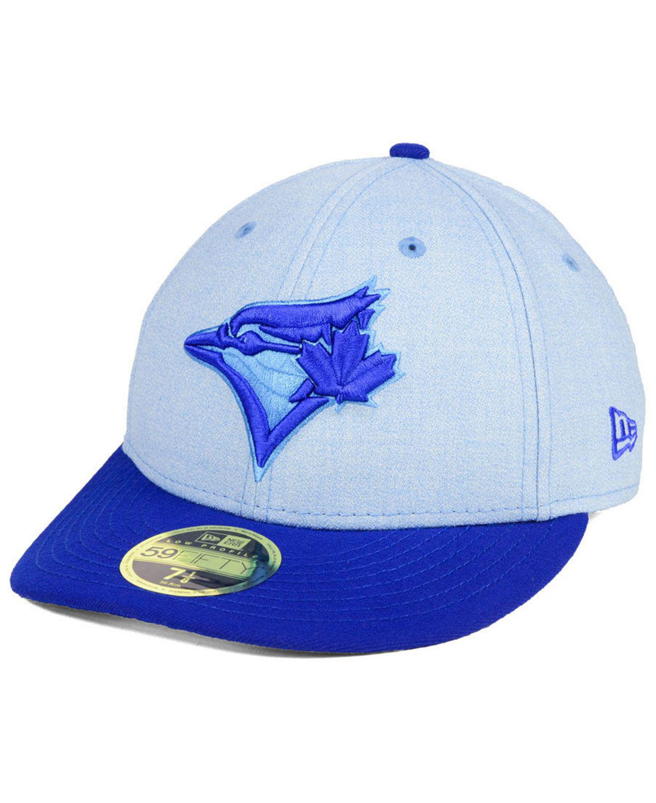 size 40 5237d 41ffd ... ebay lyst ktz toronto blue jays fathers day low profile 59fifty cap in  74521 cf927