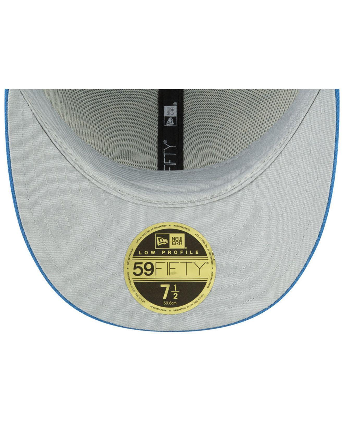 9402d054 Lyst - KTZ Detroit Lions Draft Low Profile 59fifty-fitted Cap in ...