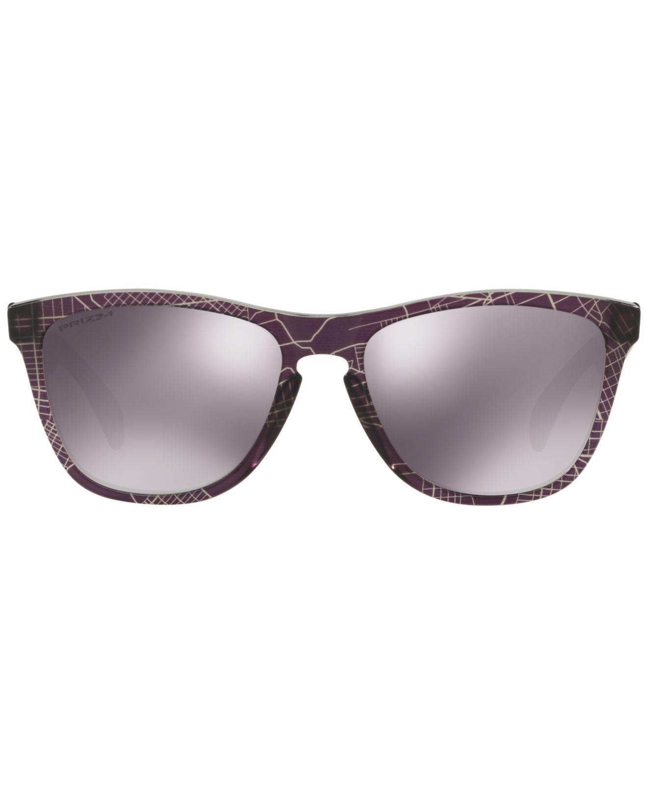 ec675de83ab netherlands lyst oakley frogskin sunglasses oo9013 in black 187ad 57427