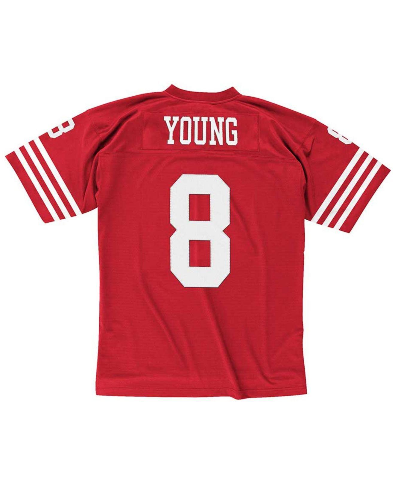 6c22b7c5d Lyst - Mitchell   Ness Steve Young San Francisco 49ers Replica ...